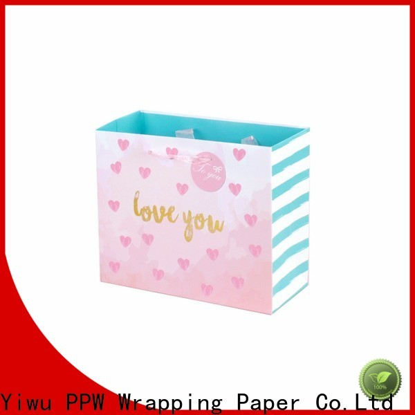 popular paper gift bags wholesale for advertising