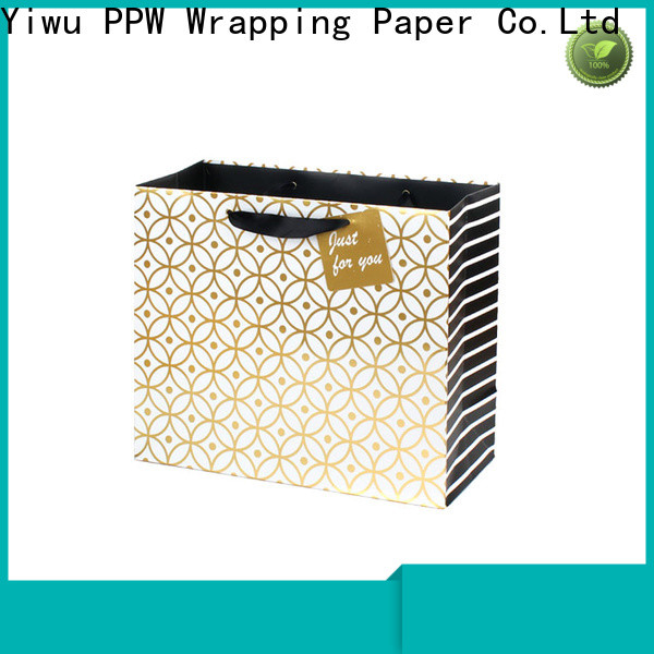 PPW custom gift bags bulk wholesale for advertising