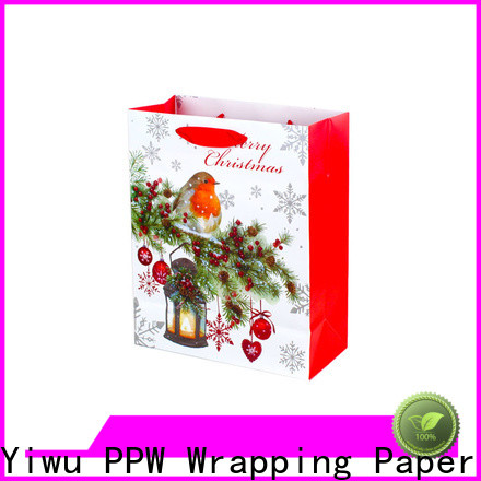 PPW kraft paper bags factory price for wedding