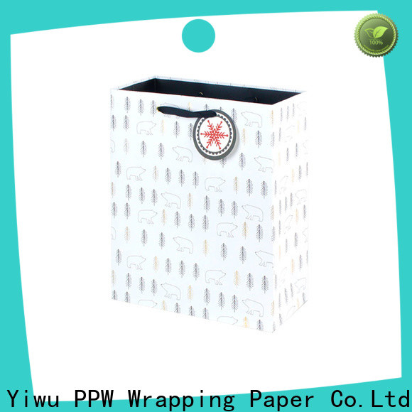 PPW hot selling small paper bags factory price for festival