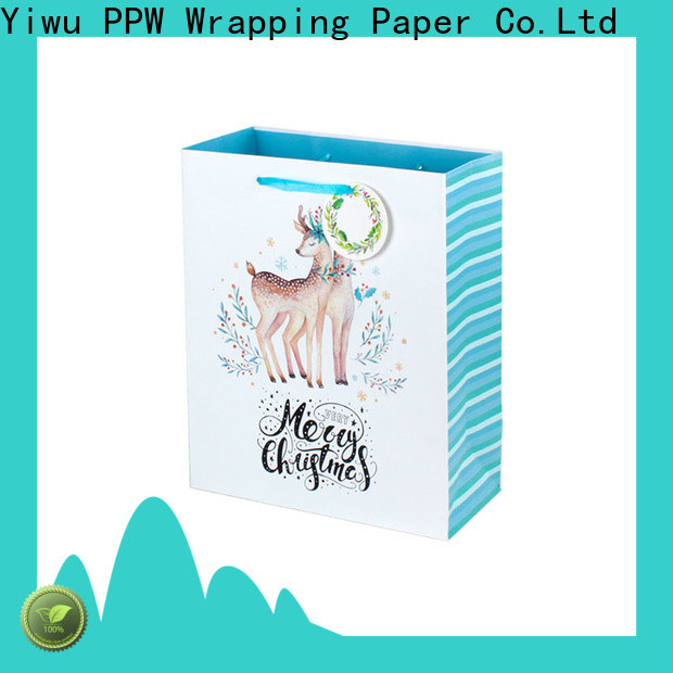 custom christmas goodie bags factory price for festival