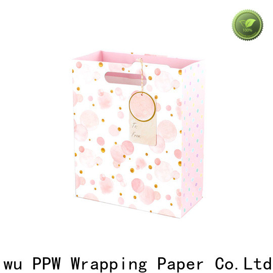 PPW quality christmas goodie bags factory price