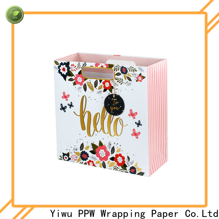 PPW kraft bags personalized for advertising