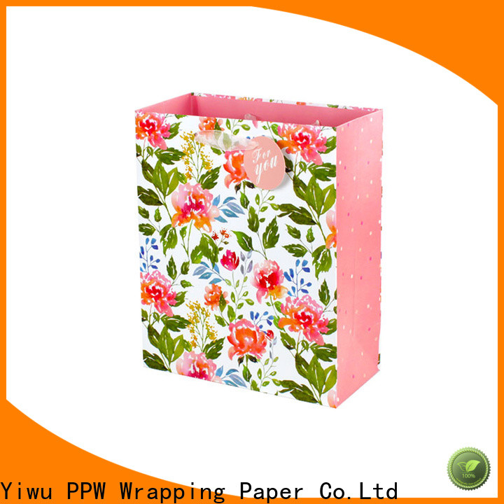 popular paper gift bags factory price for birthday