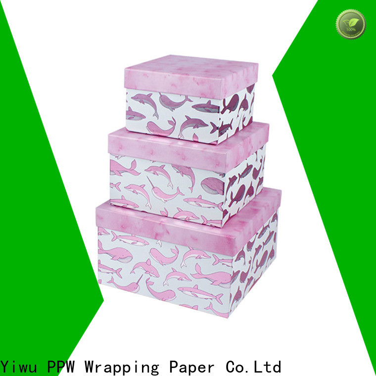 PPW round box wholesale for Valentine