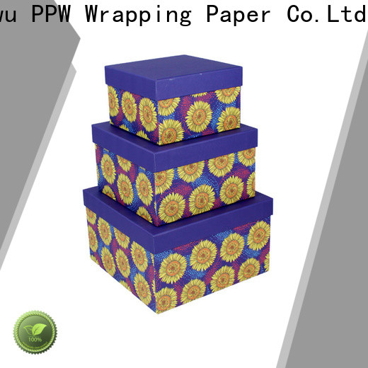 PPW custom packaging box manufacturer for Valentine