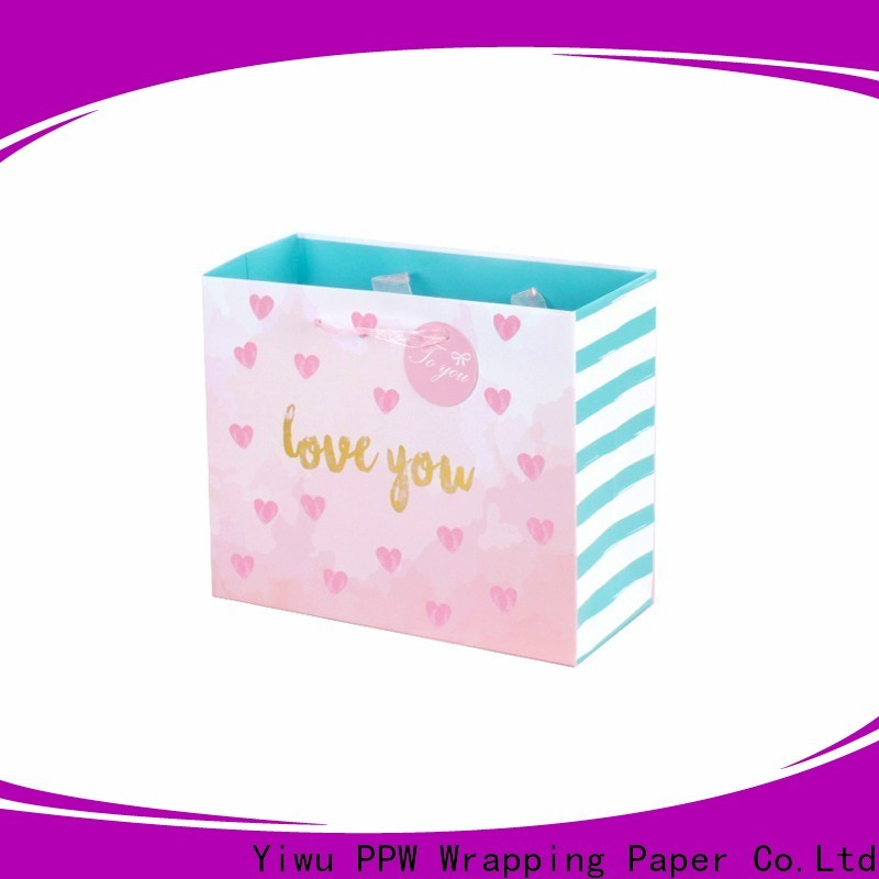 PPW gift bags bulk personalized