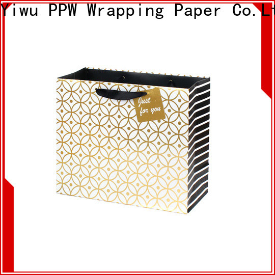 popular custom paper bags factory price for advertising