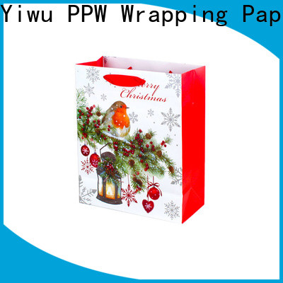 PPW professional paper gift bags personalized for birthday