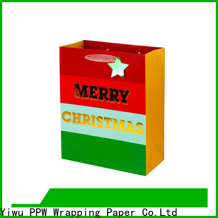 PPW custom christmas goodie bags personalized