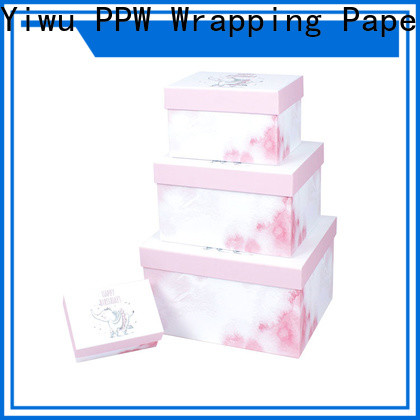 PPW small cardboard boxes on sale for birthday
