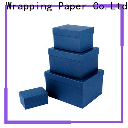 PPW small cardboard boxes manufacturer for festival