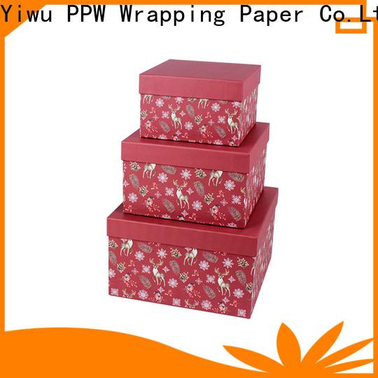 eco-friendly birthday gift box supplier for festival
