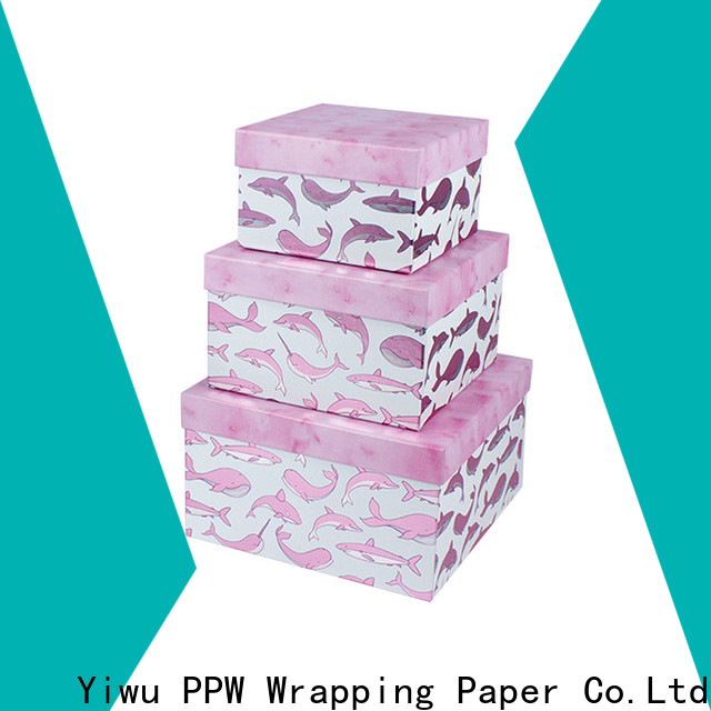 PPW small cardboard boxes manufacturer for Valentine