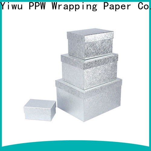 PPW cost-effective box packaging supplier for festival