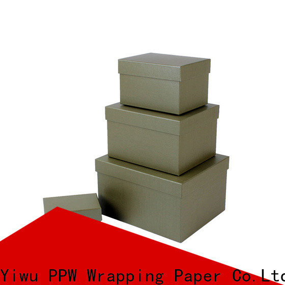 PPW cost-effective cardboard boxes for sale wholesale for festival