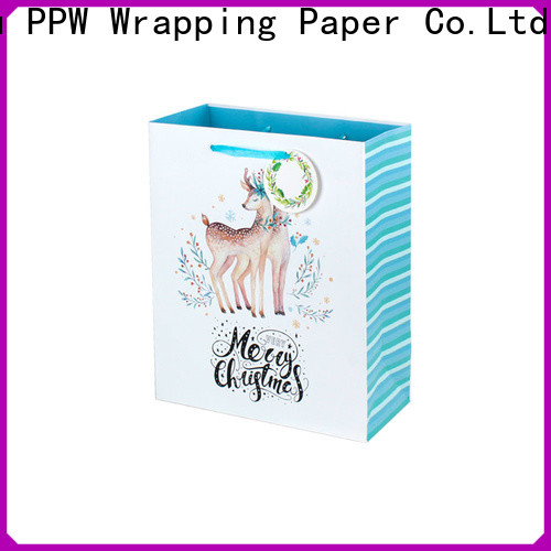PPW hot selling christmas goodie bags factory price for birthday