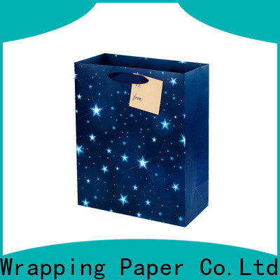 popular christmas gift bags supplier for birthday
