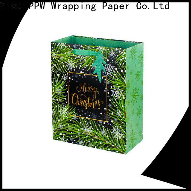 popular christmas gift bags supplier for wedding