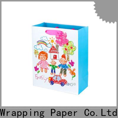 custom small paper bags supplier for festival