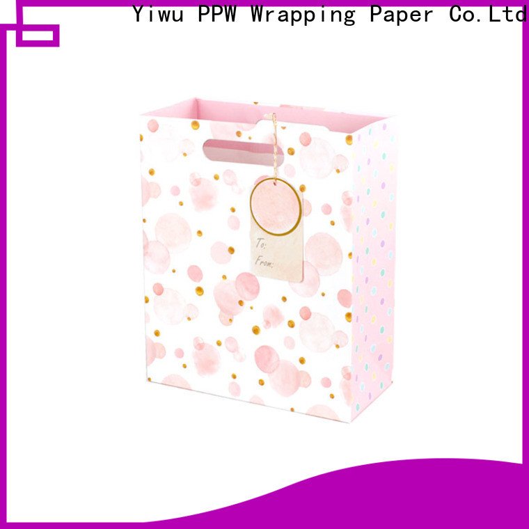 PPW popular christmas bags wholesale for birthday