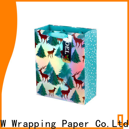 PPW quality paper bags with handles factory price for festival