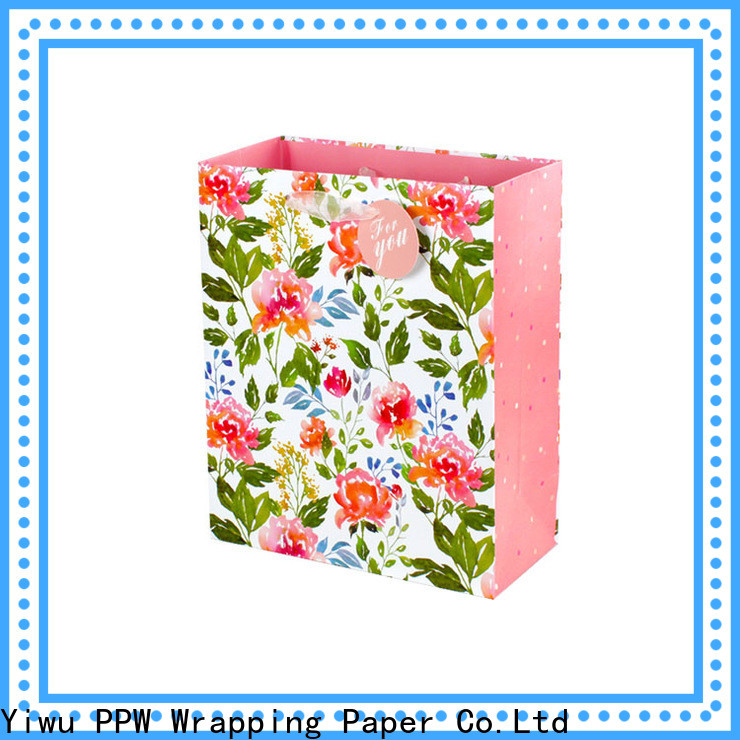 PPW quality paper party bags supplier for birthday