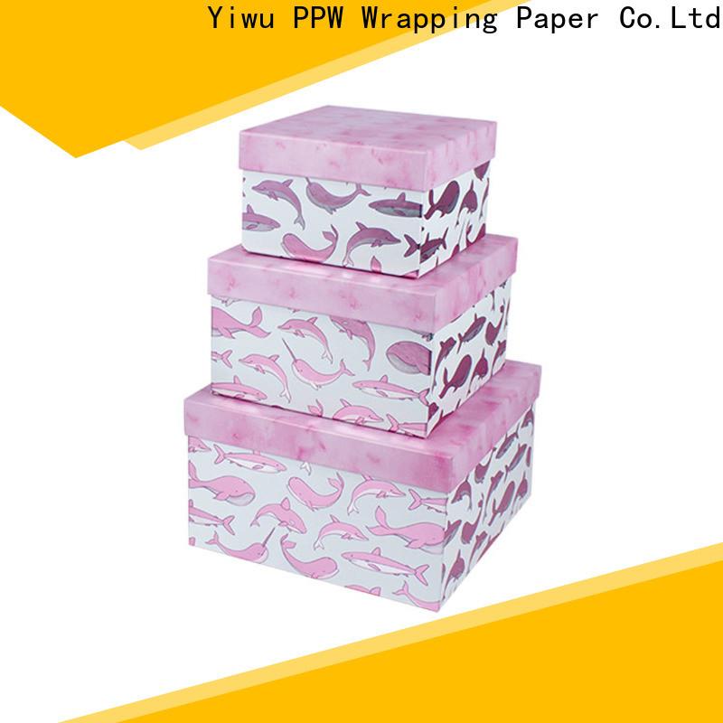 PPW custom packaging box manufacturer for festival