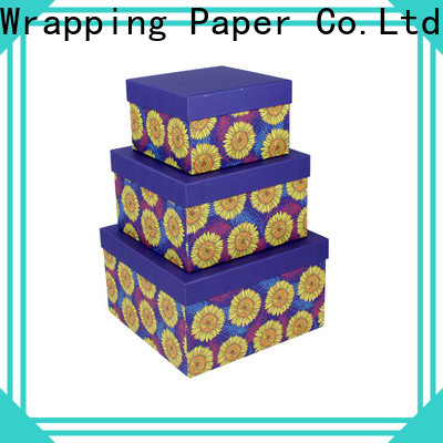 PPW cardboard boxes for sale manufacturer for birthday