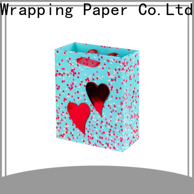 PPW paper gift bags factory price for festival
