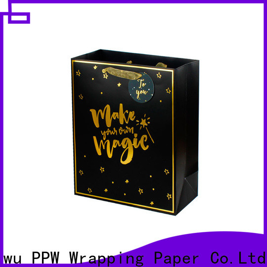 PPW paper gift bags personalized