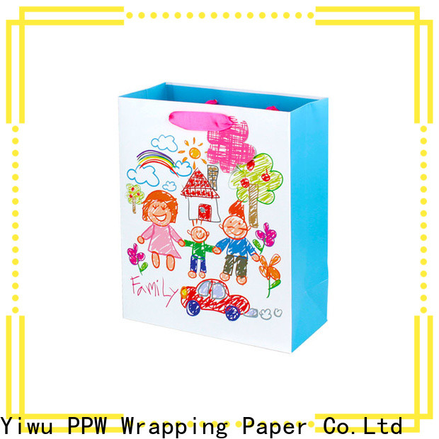 PPW christmas goodie bags personalized