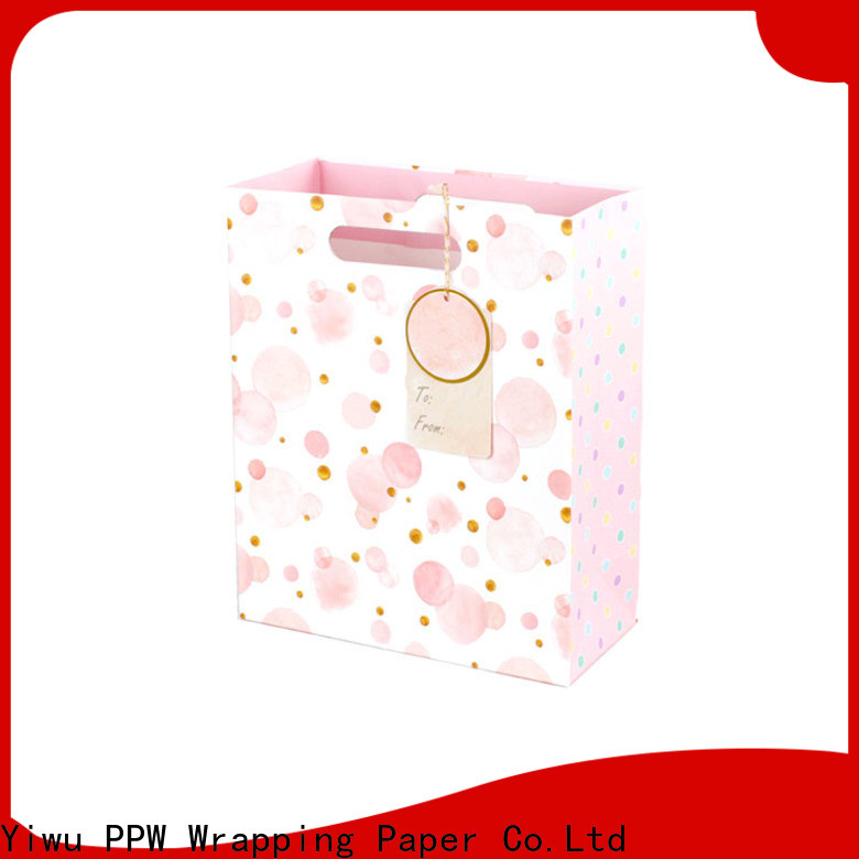 PPW paper bag wholesale for wedding