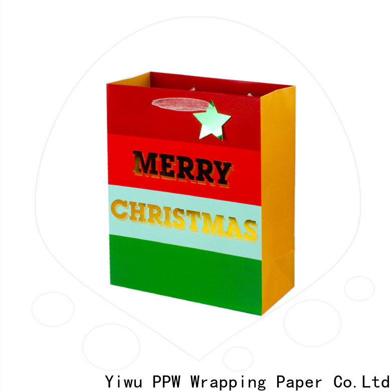 PPW custom personalised gift bags factory price for festival