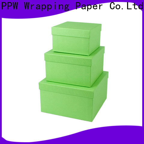 PPW cardboard gift boxes manufacturer for Christmas