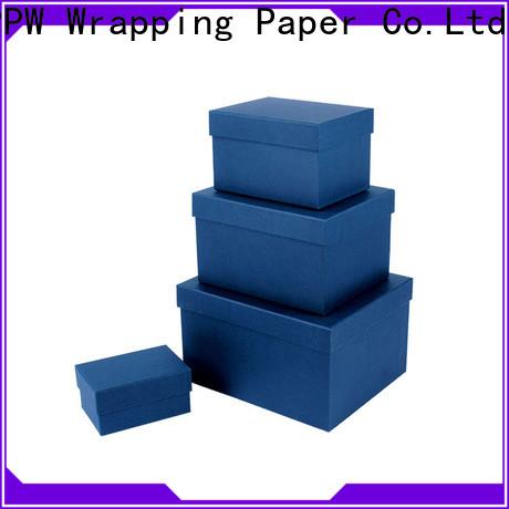 PPW round box manufacturer for birthday