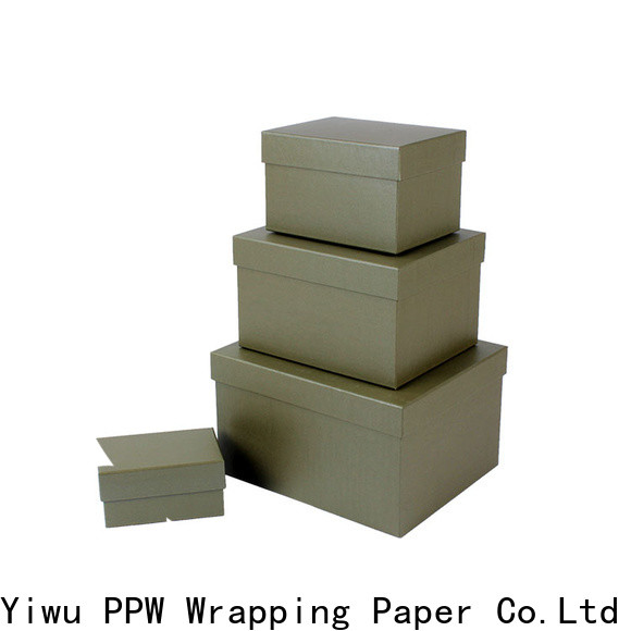 PPW eco-friendly print box wholesale for Valentine