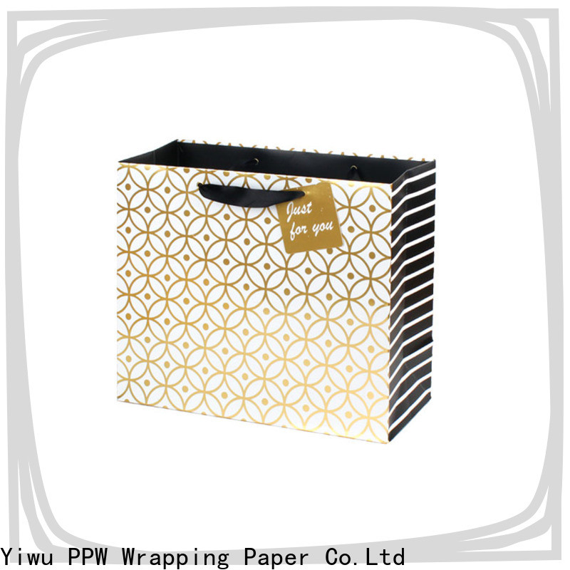 PPW custom christmas bags factory price for wedding