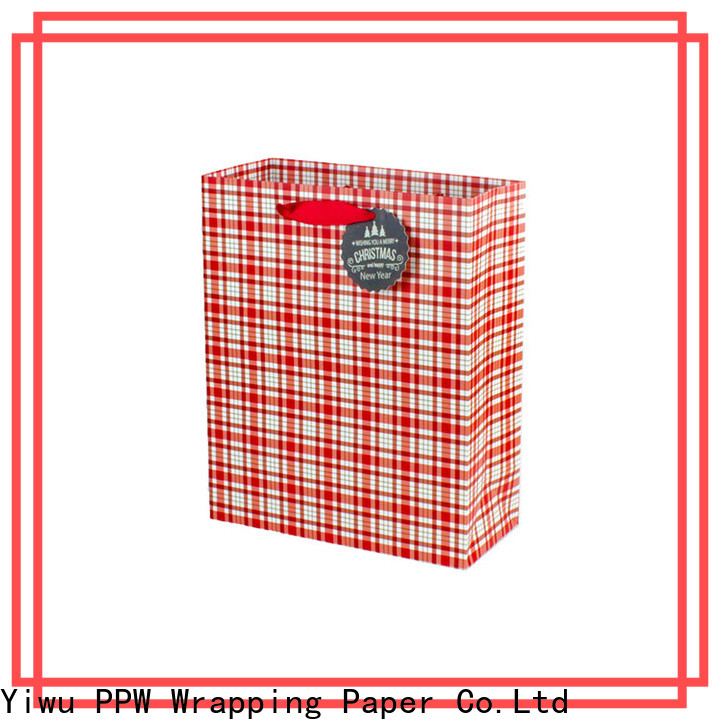 PPW professional paper bags with handles factory price for advertising