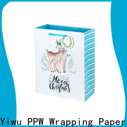 PPW custom personalised gift bags supplier for festival