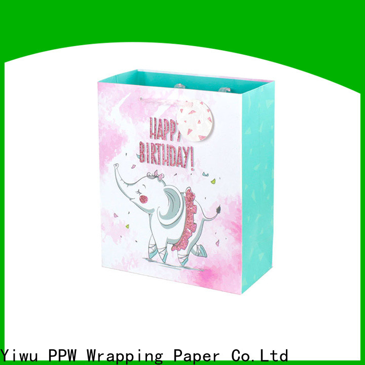 quality custom gift bags wholesale for birthday