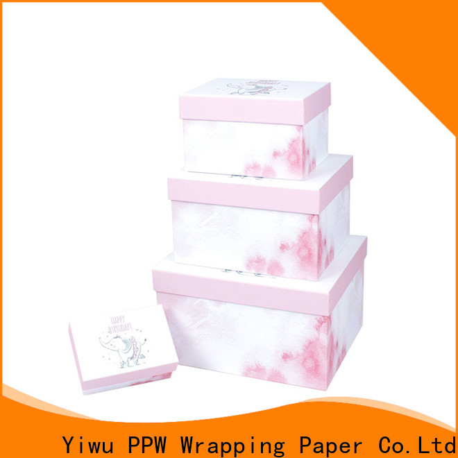 PPW hot selling cardboard gift boxes on sale for Valentine