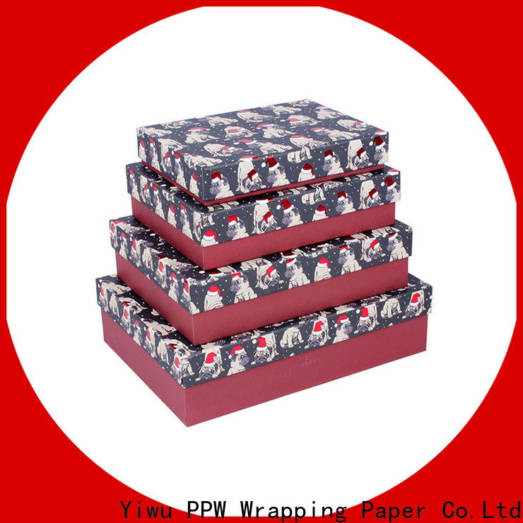 PPW box packaging wholesale for Christmas