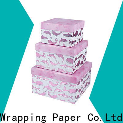 PPW cost-effective birthday gift box supplier for birthday