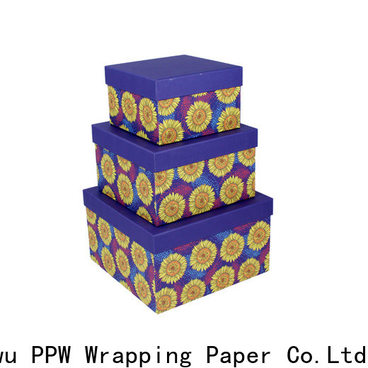 PPW custom buy cardboard boxes wholesale for festival