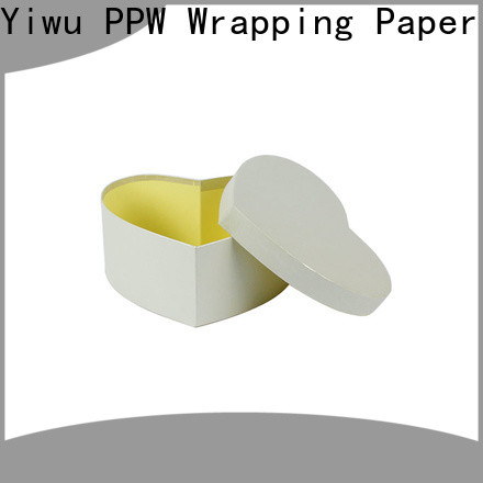 PPW custom cardboard gift boxes manufacturer for Christmas