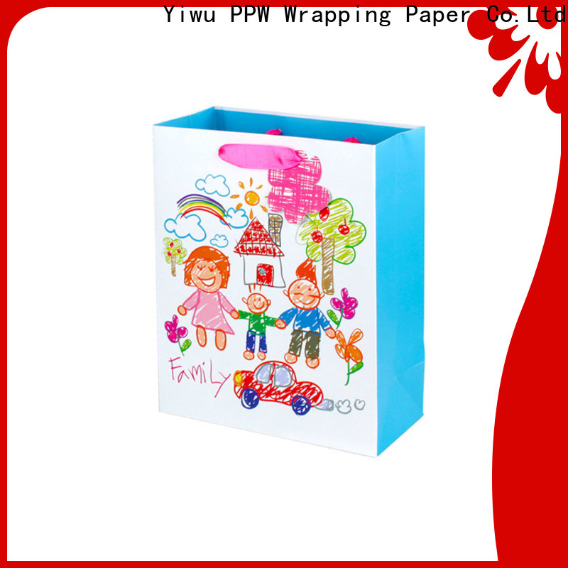 custom paper party bags wholesale for advertising