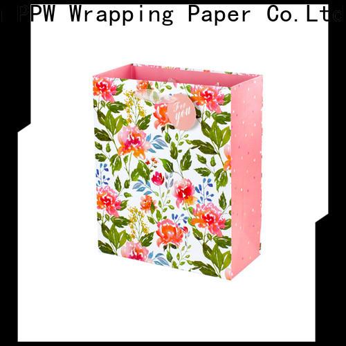 PPW custom custom gift bags factory price