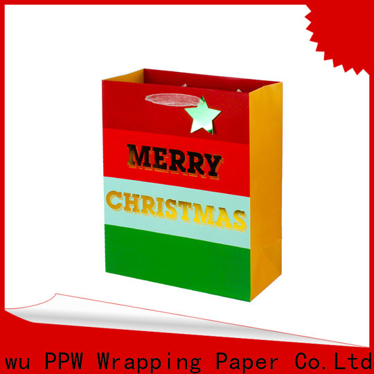 PPW quality large gift bags wholesale for festival