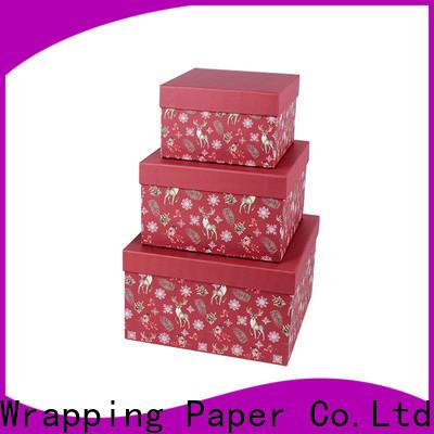 PPW custom birthday gift box manufacturer for birthday